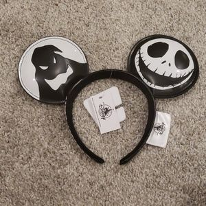 Disney Parks Jack Skellington Halloween Ears